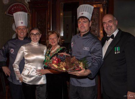 Angela Bellomo alla Chaine des Rotisseurs Como