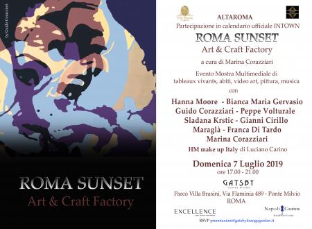 ROMA SUNSET Art&Craft Factory di Marina Corazziari
