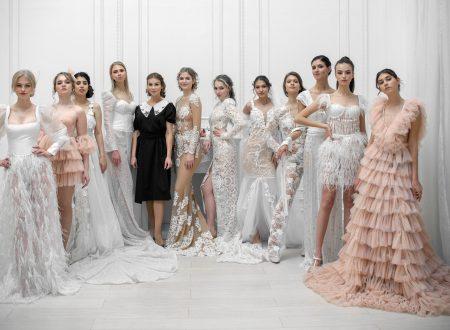 BRIDAL 2021 di Elena Iososifova al Milano Fashion Global Summit